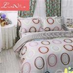 【Luna Vita】雙人 正60支頂級天絲 鋪棉兩用被床包四件組 - 追憶