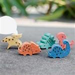 療癒小物┇彩色 客製化 小恐龍磁鐵 名片夾-好心情阿雷