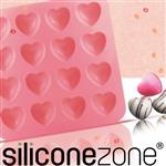 【Siliconezone】施理康耐熱愛心造型巧克力模/冰模