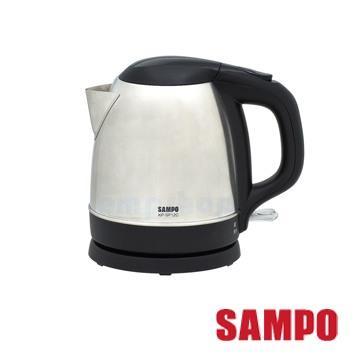 【聲寶SAMPO】1.2L上蓋不鏽鋼電茶壺 KP-SF12C