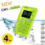 【CARD】NEW CM1-AQUA 防水名片型手機 (IPX8)