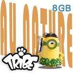 義大利TRIBE - 小小兵 8GB 隨身碟 - 草裙小小兵