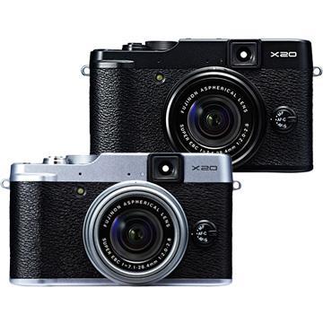 FUJIFILM X20 F2.0大光圈高階類單相機﹝中文平輸﹞