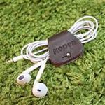 ~KOPER~ 皮革耳機集線器~深咖啡