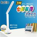 【Kolin歌林】3W 七彩變化 護眼檯燈 KTL-MN6631