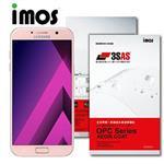 iMOS Samsung GalaxyA7 (2017) 3SAS 防潑水防指紋 疏油疏水螢幕保護貼
