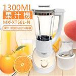 【國際牌Panasonic】1300ML研磨果汁機 MX-XT501-N
