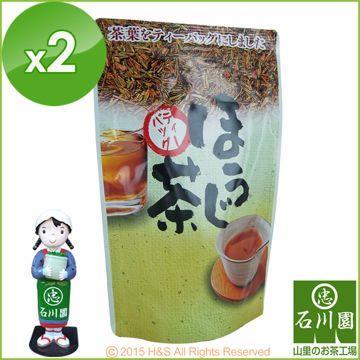 《石川園》日式烘培綠茶茶包(3克*15包)2入