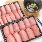 【台灣鑫鮮】印度洋南方黑鮪魚TORO-皮油生魚片250g