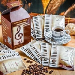 【豆趣留聲】音樂配方鱒魚五重奏濾掛咖啡典藏禮盒(10入)