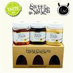 【壽滿趣】Sweet Nature - 紐西蘭 混裝蜂蜜禮盒(麥蘆卡、琉璃苣、三葉草)