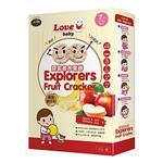 【米大師】LOVE U baby-探索者米餅-蘋果、香蕉(42g/盒)