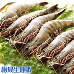 【鮮採家】根島生態蝦-健康無藥黑虎蝦巨無霸8隻入組(淨重800公克±5%)