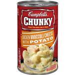 Chunky金寶 雞肉花椰菜起司馬鈴薯濃湯 18.8oz