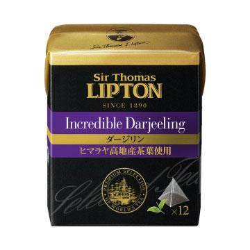 【立頓】極品爵士茶大吉嶺茶包12X2G