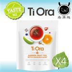 【壽滿趣- 紐西蘭原裝進口】Ti Ora元氣草本養生茶x4袋(麥盧卡夏季水果茶)