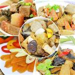 【高興宴】素人上菜-豪華精選單人套餐組(梅干扣肉+猴頭菇+魚豆腐+烏魚子+佛跳牆)