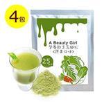 A Beauty Girl 營養飽足 高纖蔬果沖泡美飲(7g/包,共4包)