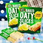 【進口零食】MOTHER EARTH烤燕麥棒-檸檬馬林糖 (6入/盒)