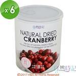 【自然時記】生機蔓越莓6罐(380g/罐)