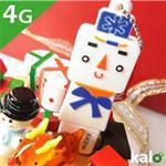 Kalo卡樂創意 北歐聖誕系列Flash Drive-4G(雪人)
