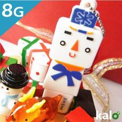 Kalo卡樂創意 北歐聖誕系列Flash Drive-8G(雪人)