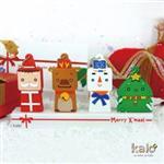 Kalo卡樂創意 北歐聖誕村限量隨身碟禮盒 (8G)