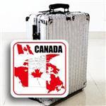 ~國旗 館~加拿大國旗領土抗UV、防水貼紙/Canada/多國款式購