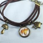 小王子的狐狸古銅手鍊‧輕靈之森手工療癒系
