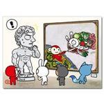 【輔大猴】創世紀明信片