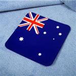 ~國旗 館~澳洲國旗方形抗UV、防水貼紙/澳大利亞/多國款購