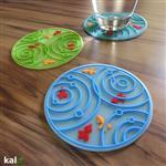 【Kalo卡樂創意】池塘小金魚杯墊