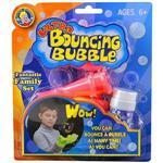 【Uncle Bubble】第二代超級彈跳泡泡-親子遊戲套組(粉)