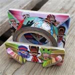 航海王紙膠帶-多雷斯羅薩小人玩具篇