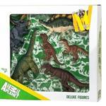 《MOJO FUN動物模型》禮盒-恐龍六件組 (三角龍+腕龍+暴龍+小暴龍+迅猛龍+劍龍)