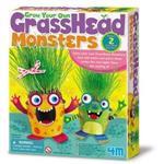 ~4M美勞創作~GrassHead Monsters 草頭怪獸