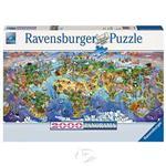 【德國Ravensburger拼圖】世界奇觀-2000片World Wonders