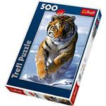 【波蘭TREFL拼圖】雪中老虎-500片Snow Tiger