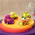 《 美國 B.toys 感統玩具 》寶寶迴力車