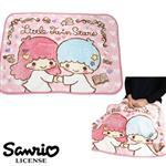 雙子星 KIKI LALA 絨毛 披肩 毛毯 毯子 披毯 三麗鷗 Sanrio