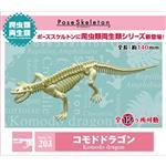 會亂動的化石 科莫多龍 科摩多巨蜥 擺飾 模型 盒玩 No.203 RE-MENT