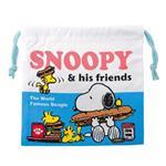 史努比 Snoopy 帆布 束口袋 收納袋 抽繩束口袋 PEANUTS