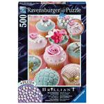 【德國Ravensburger拼圖】珍珠杯子蛋糕-500片 Cupcakes with Beads