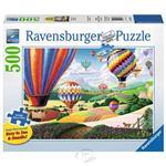 【德國Ravensburger拼圖】升空的彩色熱氣球-大拼片拼圖-500片