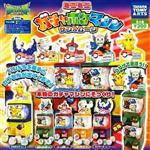 全套5款 神奇寶貝 迷你 轉蛋機 扭蛋 擺設 玩具 皮卡丘 PIKACHU