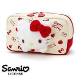 凱蒂貓 HelloKitty 立體造型 化妝包 收納包 鉛筆盒 筆袋 三麗鷗 Sanrio