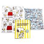 史努比 Snoopy 帆布 束口袋 三件組 收納袋 抽繩束口袋 PEANUTS