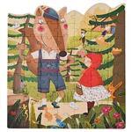 希臘MiDeer 兒童童話故事拼圖-小紅帽