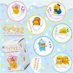 全套6款 蛋黃哥 x 三麗鷗家族 變裝造型 杯緣子 P2 第二彈 盒玩 擺飾 gudetama Sa