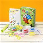 Q-doh 有機矽膠黏土 四色工具組